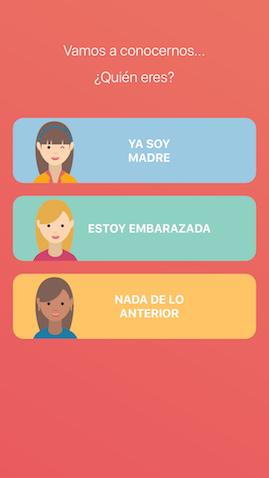 WeMoms app para la maternidad