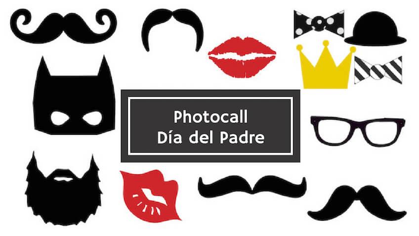 Photocall para el Día del Padre para imprimir gratis