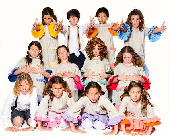 Annie Jr proyecto de Glee Club Paracuellos de Jarama