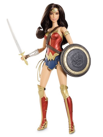La muñeca Barbie de Wonder Woman