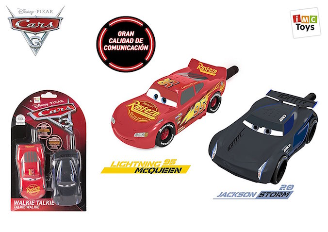 Walkie Talkie de Cars 3