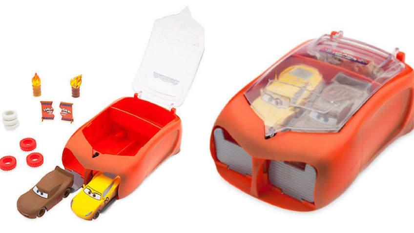 Maletín con set de accesorios de Cruz Ramírez y Thunder Hollow de Disney Pixar Cars 3