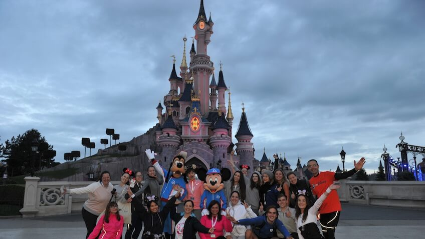 Media Maratón Disneyland París 2017