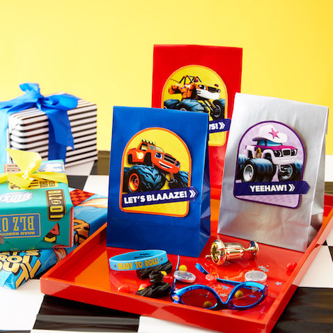 Bolsas chuches de Blaze y los Monster Machines