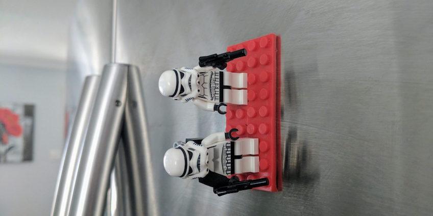 Cinta adhesiva de Lego con minifiguras de Star Wars