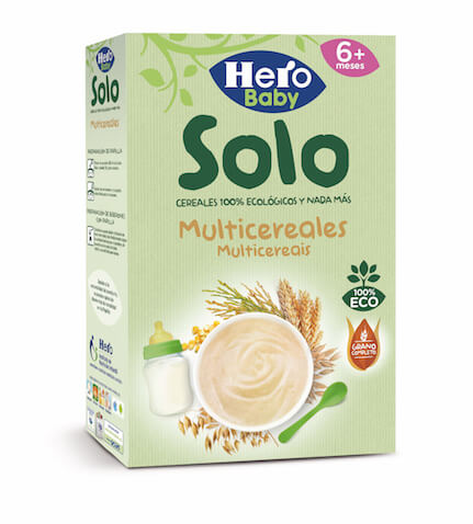 Hero baby SOLO Multicereales 300g