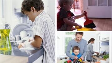 Pequetareas, una forma de fomentar la corresponsabilidad en los niñ@s