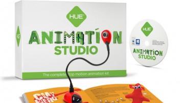 Hacer animaciones stop motion con el Kit de HUE Estudio de Animación