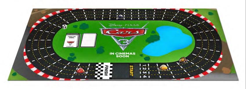 Juego de mesa Cars 3 para descargar e imprimir gratis