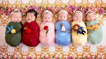 Fotos de bebés recién nacidos de película!