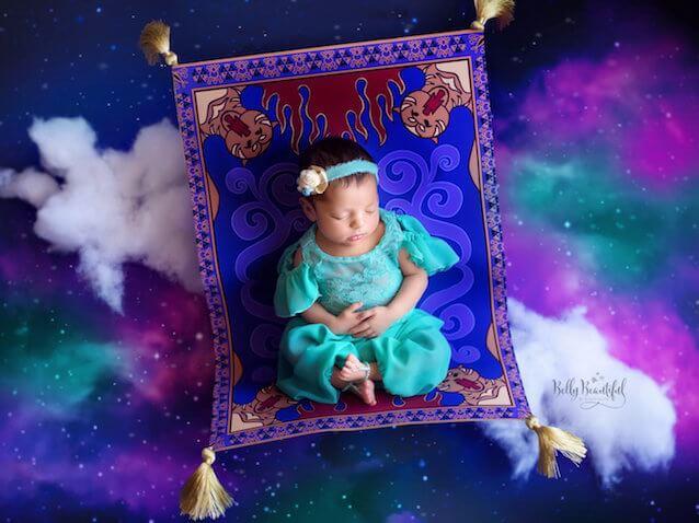 Fotos bebés recién nacidos Jasmín