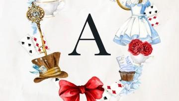 Láminas infantiles de Alicia en el País de las Maravillas para imprimir