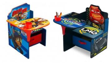 Pupitres infantiles y mesas con los personajes preferidos de tus hij@s