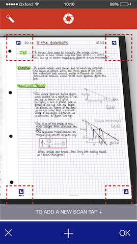 App gratis cuadernos Oxford para guardar apuntes en PDF