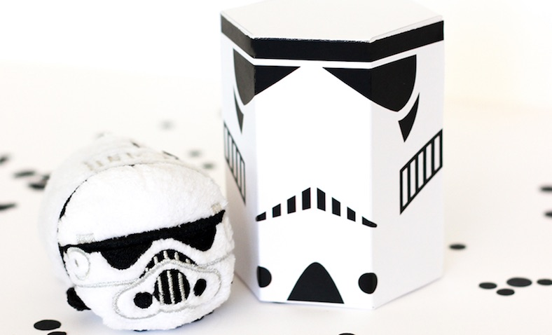 Cajas de Darth Vader de Star Wars para imprimir gratis de Printable Crush para regalos