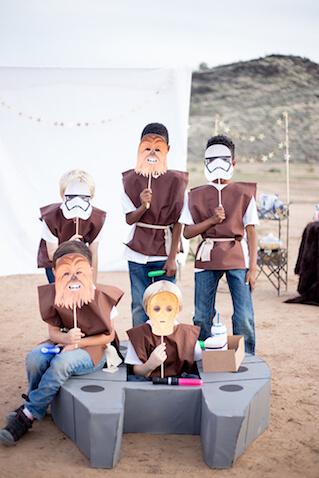 Como hacer Disfraces caseros de Star Wars para niños