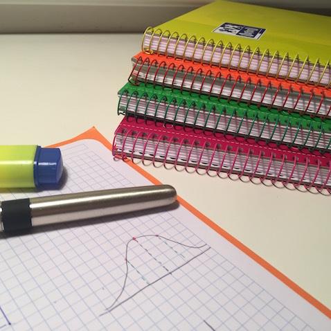 Cuadernos Oxford tienen un Papel de calidad para escribir a lápiz, boli o rotuladores