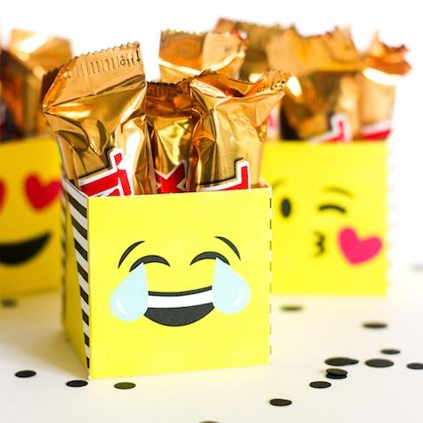Cajas de Emojis para imprimir gratis con plantilla