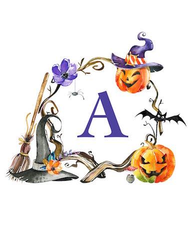 Láminas infantiles para Halloween que puedes imprimir gratis