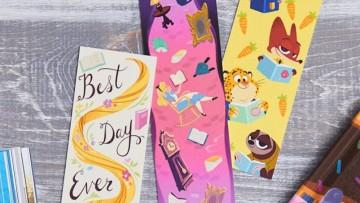 12 marcapáginas para imprimir a los niñ@s con personajes de Disney