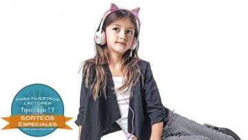 ¡Sorteo de auriculares para niñ@s Little Rockerz Costume!