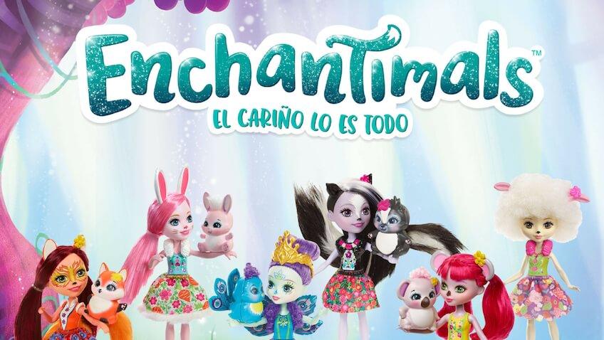nuevas líneas muñecas Enchantimals de Mattel