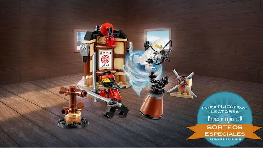 Sorteo de un set de la Lego Ninjago Película