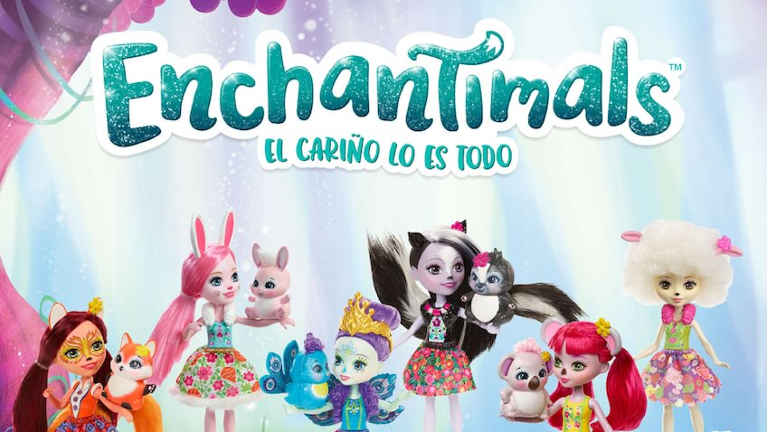 sorteo muñecas enchantimals de mattel