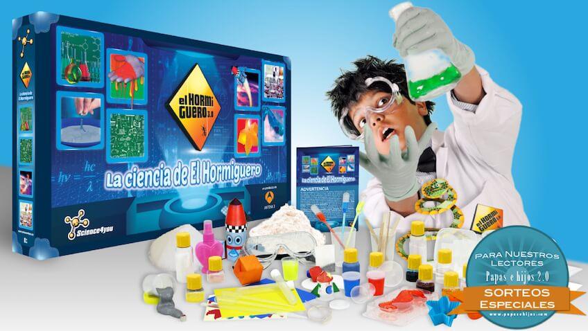 Sorteo del juguete científico del Homiguero