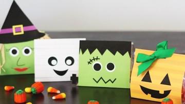 Bolsas de chuches para Halloween