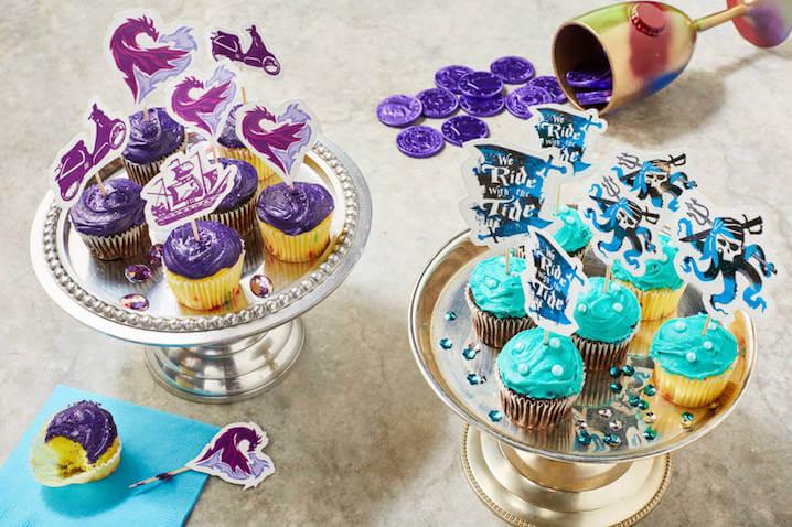 Cómo hacer Cupcakes para una fiesta de Los Descendientes