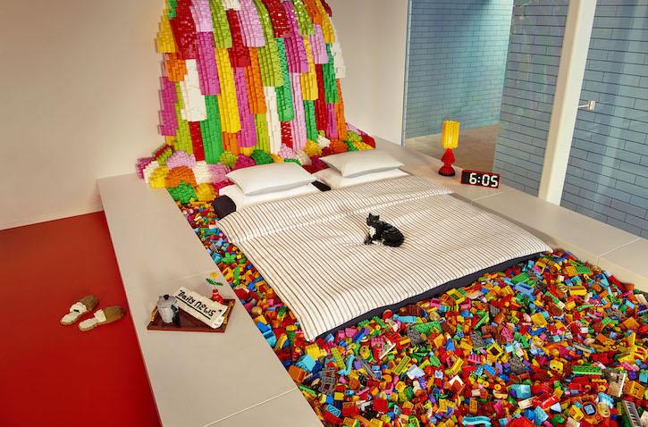 Cama de la Casa de LEGO de Dinamarca