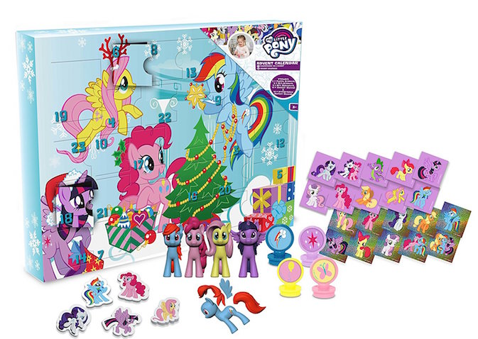 Calendario de adviento para niños de My Little Pony