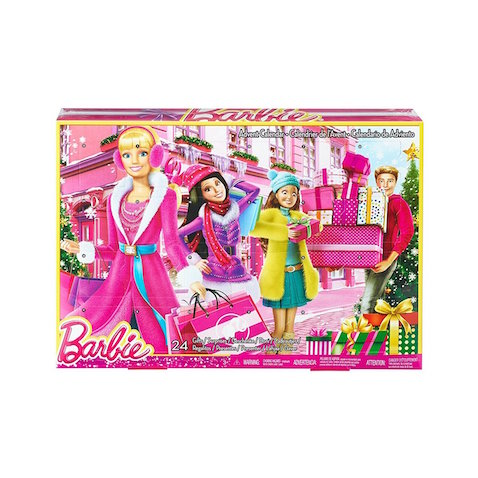 Calendario de Adviento para niños de Barbie