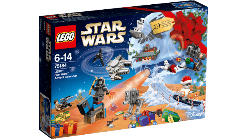 Gana un calendario de adviento de Lego Star Wars