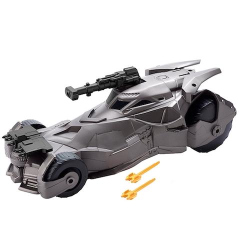 Batmóvil superlanzamisiles de La liga de la Justicia película de Batman