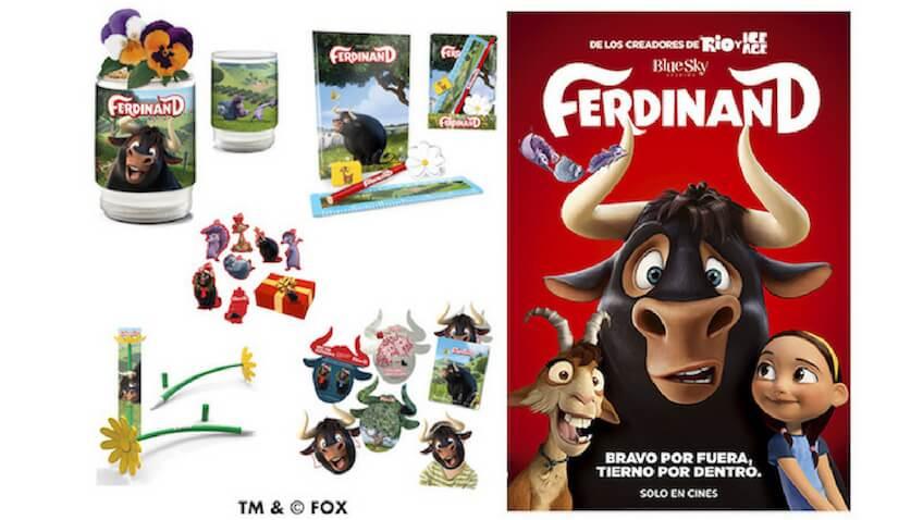 Ferdinand película pack de premios del sorteo