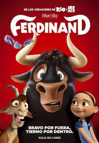 Ferdinand pelicula infantil