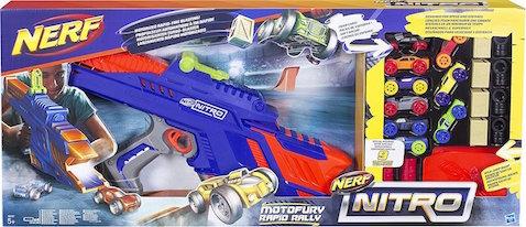 La Nueva Nerf Nitro Motofury lanza vehículos