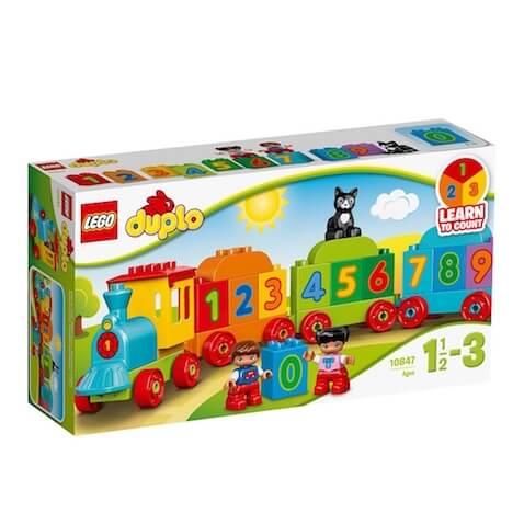 Mi primer Tren de los Números de LEGO Duplo