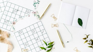 Calendarios del 2019 para imprimir y organizar cada mes