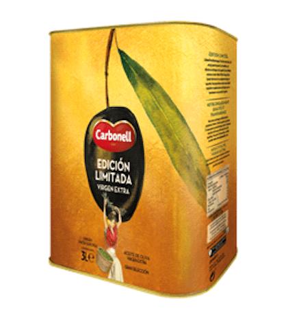 Nueva lata de edición limitada de aceita de oliva extra virgen Carbonell