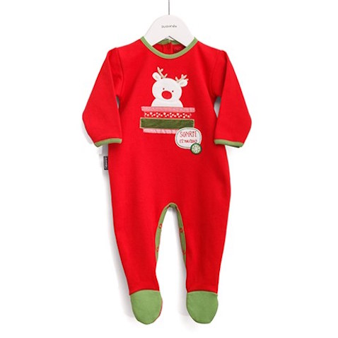 pijama para bebés de 6 meses de Navidad de Suavinex