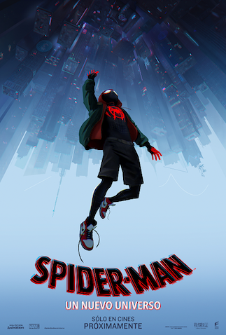 película spiderman un nuevo universo