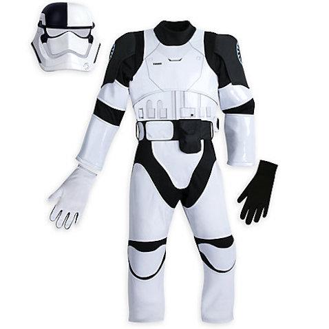 Disfraz infantil soldado stormtrooper de Star Wars