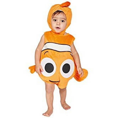 Disfraz de Nemo para bebé desde 3 meses hasta 2 años