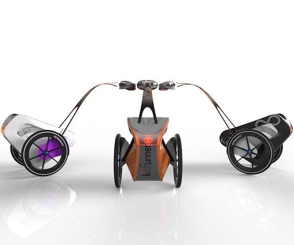 nuevo carrito para correr con bebés