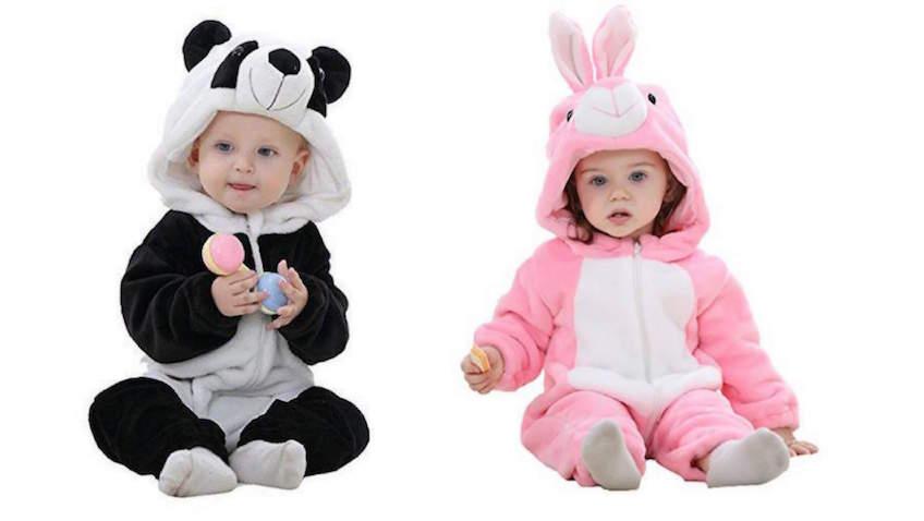 Disfraces para bebés baratos con descuentos para Carnaval de oso y conejo