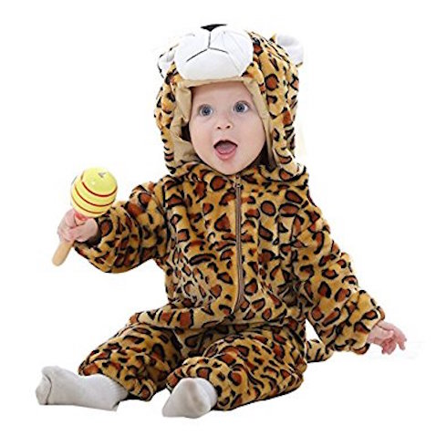disfraz para bebés de leopardo desde 2 meses
