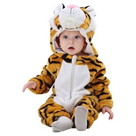 disfraz barato para bebés de tigre
